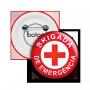 Boton Brigada de Emergência
