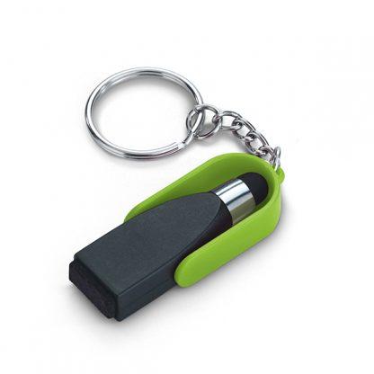 Chaveiro com Ponteira Touch e Limpador de Tela | 93358